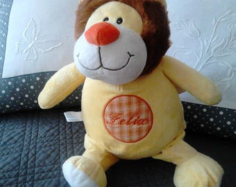 "the LION plush yellow sweet ""CUBBIES"""