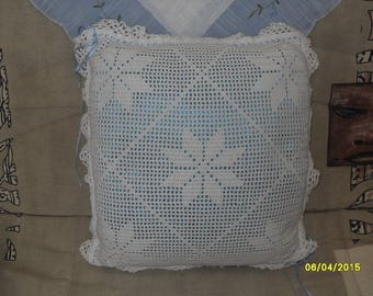 coussin40x40 crochet cover