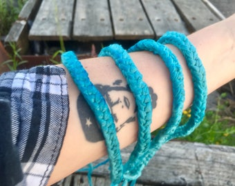 Upcycled Headband, Hand-Dyed