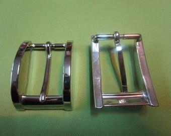 buckle belt metal rectangular nickelee
