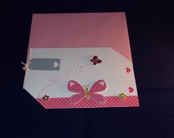 Matching envelope and hand made card