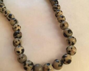 31 round Jasper beads