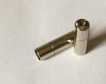 Silver bayonet clasp