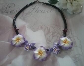 Tiare flower necklace
