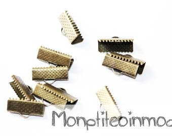 16mm - set of 15 Tips for Ribbon or bias claw clips