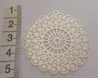silver print 42mm in diameter