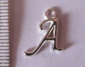 """letter """"A to J"""" 3series Silver Pendant"""