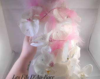 """Wedding bouquet in pink and white """"ALICE"""""""