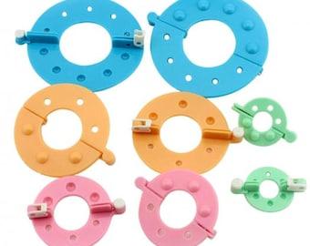 Kit tassel / Pom Pom MAKER / 4 sizes