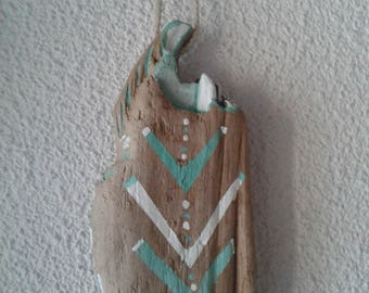 Scandinavian drift wood decoration