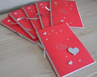 Mass church wedding, set of 10 booklets