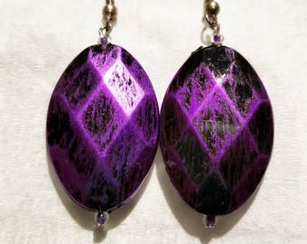 Gorgeous Purple Earrings