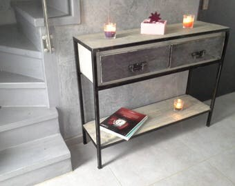 industrial Cabinet console