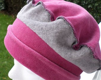 Beanie Hat child comfortable unique winter velvet beret linen ' designer eva