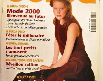 Burda trends December 1999 magazine