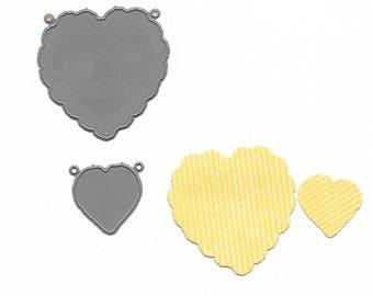 """Heart"" shaped cut (die)"