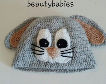 Bunny hat size 12-18 months