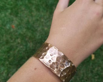Hammered Copper Bracelet, Copper Bracelet, Hand Hammered Bracelet, Copper Bracelet for women, Copper Cuff Bracelet, Copper Pipe Bracelet