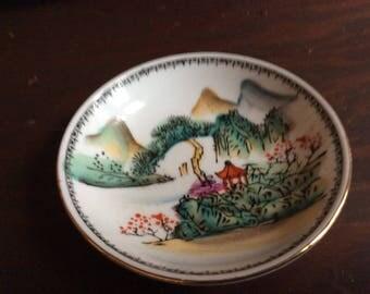 Vintage Porcelain Coaster