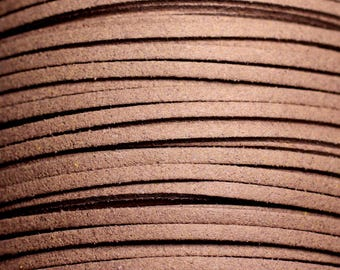 5 Metters - strap suede 3mm Brown Taupe - 4558550088437