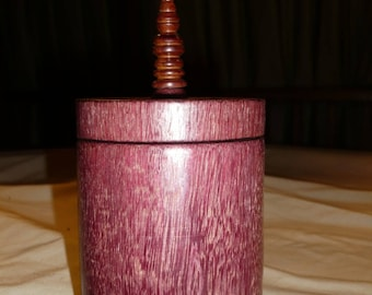 Purpleheart wood box