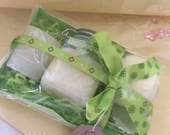 Lime and Bergamot Bath Gift Set