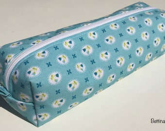 Cotton fabric and zipper pouch