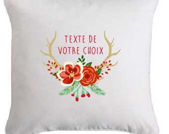 Special Christmas edition pillow personalized