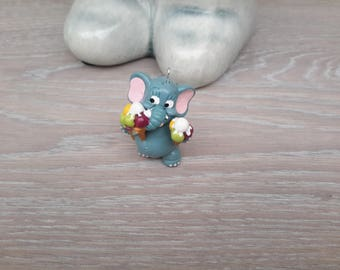 elephant charm for making jewelry
