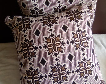 Jacquard 45 x 45 pillow cover