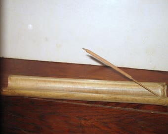 Max's Bamboo Incense Holder