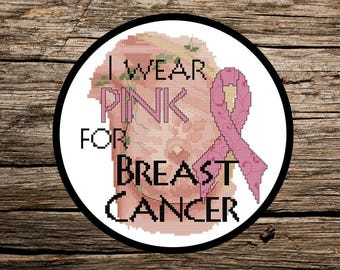 I wear PINK for Breast Cancer