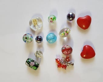 glass beads and other blends