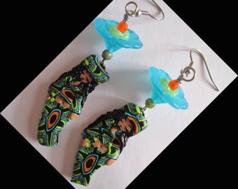 "Earrings stainless steel ""FLO's friends"""