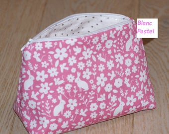 toilet baby zippered lined pouch Kit