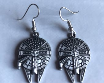 Millenium Falcon Star Wars Earrings