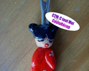 Now get personalized red kokeshi