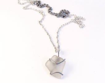 Sea Glass Adjustable Necklace