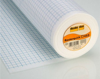 Rasterquick, (patchwork interfacing), 453 (square), 0.50m/0.90m