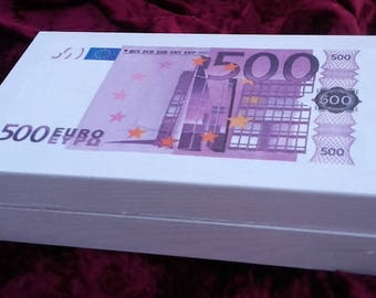 Empty box Pocket 500 euros
