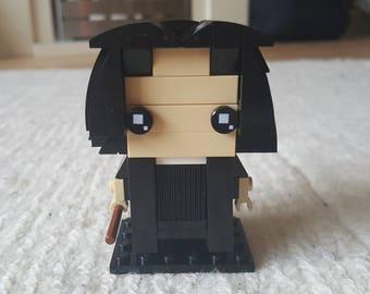 Professor Snape Lego Brickheadz style figure