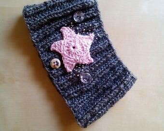 headband earmuff Handmade wool crocheted baby