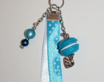 Key ring or jewelry bag sticker