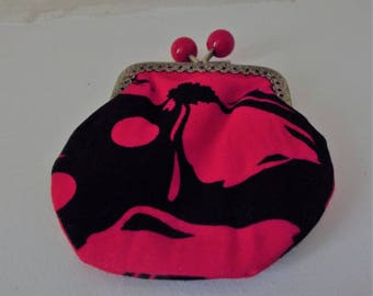 coin purse with cotton metal clasps