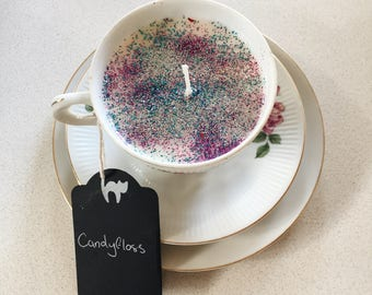 Candyfloss Soy Candle