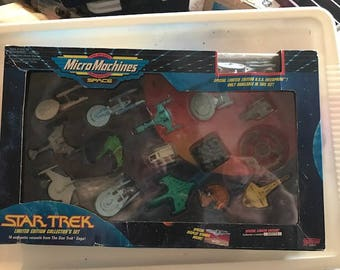 Micro Machines Star Trek Sets Rare Collectibles