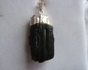 Genuine TOURMALINE gemstones pendant