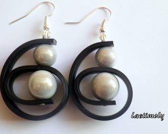magical swirl earrings
