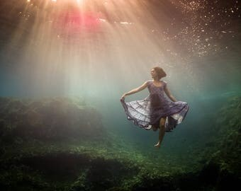 Sirena - Underwater Fine Art Photograph - Various Sizes - Unframed