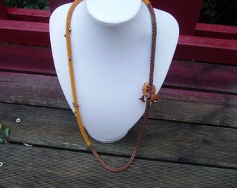 "Necklace ""ode to autumn"""